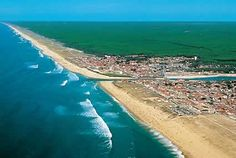 Mimizan Plage, France - Airview
