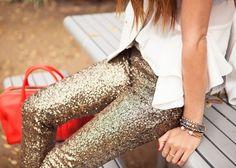 sparkle jeans  @Rachel Mason
