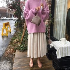 Discover recipes, home ideas, style inspiration and other ideas to try. Street Hijab Fashion, Muslim Fashion, Modest Fashion, Korean Fashion, Abaya Fashion, Mode Outfits, Skirt Outfits, Chic Outfits, Fashion Outfits
