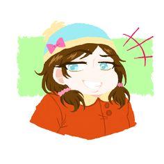 cartman genderbend   Tumblr South Park, Eric Cartman, Folk, Fanart, Gay, Geek Stuff, Ships, Comic, Tumblr