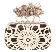 Alexander McQueen Fall 2012 Knuckle Clutches | would be a fun clutch for a bride... if totally crazy haha
