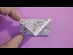 Guide to Making Envelopes with Paper Money Origami Envelope . Origami Yoda, Origami Pokemon, Origami Tie, Dragon Origami, Origami Letter, Origami Turtle, Origami Envelope, Origami Tooth, Origami Folding