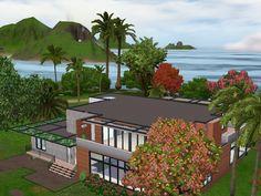 Maison sims  moderne