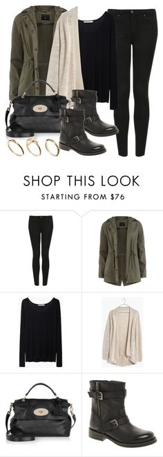 """Style #9531"" by vany-alvarado ❤ liked on Polyvore featuring Topshop, Dorothy Perkins, T By Alexander Wang, Madewell, Mulberry, ASOS and DesignSix"