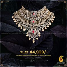 ltd, Vijayawada, India. Swarn Sri is full of passionate individuals, all dedicated for the production of. Diamond Necklace Set, Diamond Choker, Diamond Jewelry, Emerald Necklace, Moon Jewelry, Dainty Jewelry, Jewelry Accessories, Jewelry Design, 14k Gold Chain
