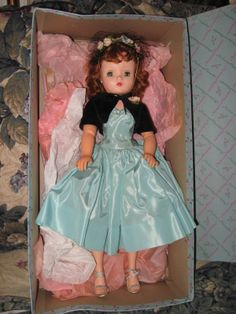 1956 Madame Alexander Cissy Doll in Box 2017 | eBay