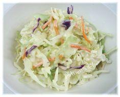 Los Inventos de Lisa: Coleslaw Coleslaw Salad, Puerto Rican Recipes, Puerto Ricans, Cabbage, Lisa, Vegetables, Food, Tasty, Grain Salad