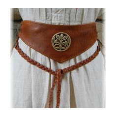 Leather belt ... not quite obi or corset, but good for garb
