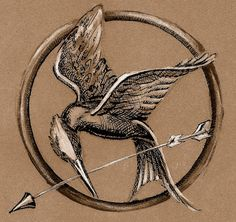 Mockingjay Pin by ~greenrainyday on deviantART