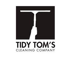 I really like this logo. It was very clever to take the squeegee and realize it made a T shape. It makes me think of washing windows right away, which is a good representation of a cleaning company.