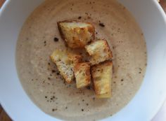 Roasted Cauliflower Soup | What Annie's Eating