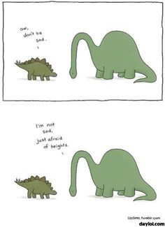 """""""The small world of Liz"""", a selection of small cute comics created by American illustrator Liz Climo, which features some very adorable animals in funny and t Memes Humor, Funny Memes, Jokes, Funny Cute, The Funny, Hilarious, Liz Climo Comics, Rage Comic, Beste Comics"""