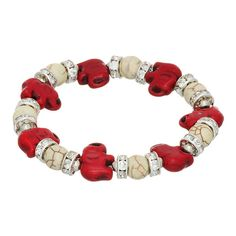 Crimson Elephant Bra...