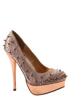 Luichiny Little Minx Spiked Pump by Spring Shoe Favorites on @HauteLook
