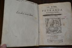 #frontespizio  #frontispiece #specialcollections #rarebooks #petrarca #petrarch Le Rime del Petrarca brevemente esposte per Lodovico Castelvetro (1587 edition). Defaced frontispiece with Lodovic Castelvetro's name blacked-out, a somewhat divisive figure. Other curious and cryptic markings and comments found throughout! MDLXXXII