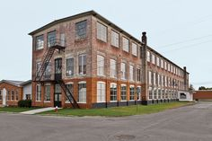 A 19th-century New York factory houses both Brandon and Amy Phillips's apartment and the workshop for their company, Miles & May Furniture Works.
