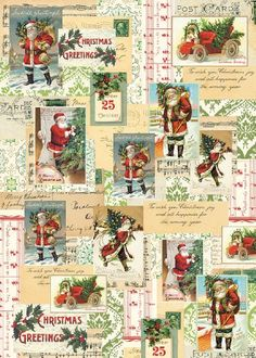 Cavallini & Co. Holiday Santa Collage Decorative Decoupage Poster Wrapping Paper Sheet Cavallini & Co. http://www.amazon.com/dp/1574897020/ref=cm_sw_r_pi_dp_Lm0Otb0W6K5CFMTN