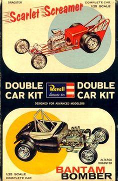 Vintage Models, Old Models, Vintage Toys, Model Cars Kits, Kit Cars, Plastic Model Cars, Model Trains, Box Art, Cars