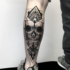Dot Tattoo - Skull Tattoo - Black Tattoo - Tattoo Artist - Tattoo