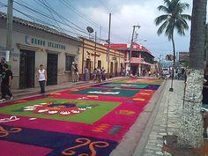 Las alfombras de Copan