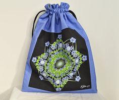 Medium Mandala Drawstring Bag with by Allenx2PhotoandCraft on Etsy