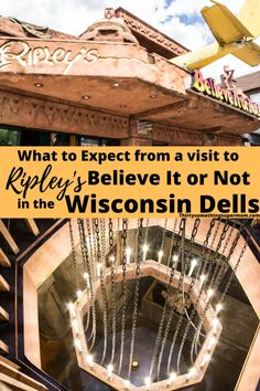 What to Expect at Ripley's Believe It or Not in the Wisconsin Dells - #familyfun #wisconsin #travelwisconsin #midwesttravel #dells #ripleys Best Places To Vacation, Vacation Trips, Vacation Ideas, Vacations, Travelling Tips, Travel Tips, Ripley Believe It Or Not, Wisconsin Dells, Perfect Sense