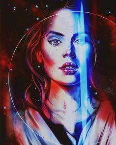 Rey | Star Wars: The Last Jedi | #starwars #starwarsart #starwarsfanart #thelastjedi #jedi #rey