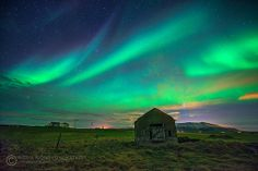 Painted Night - Aurora Borealis from Iceland