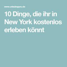 10 Dinge, die ihr in New York kostenlos erleben könnt