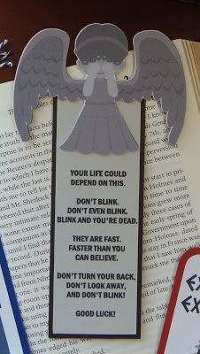 Craft with Bee: Silhouette Sunday - Doctor Who Bookmarks