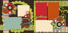 Live Laugh Love Page Kit  Out on a Limb Scrapbooking