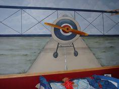 Fresh Paint | Children's Airplane Mural