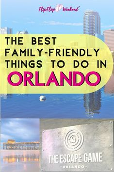 Orlando has no shortage of fun, family-friendly activities. This post features 37 amazing things to do in Orlando, Florida that everyone will enjoy. #orlando #orlandofl