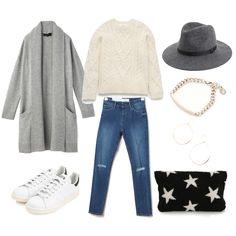 スニーカーコーデ。 stylelist:marico  ponte/outfits/casual fashion/