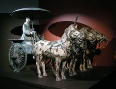 Terra Cotta Warriors-Got to see a few of them when they were brought to the China Pavilion for the 1982 World's Fair...would love to go see all of them.