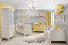 Inspiração: Quarto de bebê Amarelo e cinza!