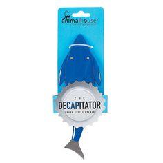 Decapitator Shark Bottle Opener now featured on Fab.