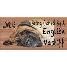 English Mastiff GS407 by GiggleSticks on Etsy, $5.99