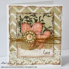 Cardmaking with 'The Avenues' {Bo Bunny}