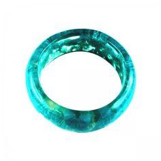 Lacrom - Sharra Pagano - Bracelet Single-piece transparent colored bracelet in resin.