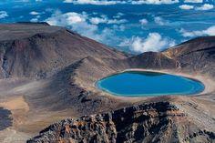 Новая Зеландия. Национальный парк Тонгариро. (47 фото)