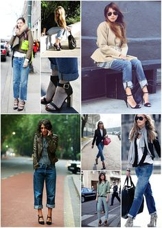 Pair Your Boy Jeans With Bossy Heels  Pic #1... Fabo.
