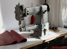 Work is about to start #adlersewingmachines