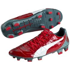Puma evoPOWER 1.2 Graphic Firm Ground Football Boots Red 2c4d5ab3fe6f0