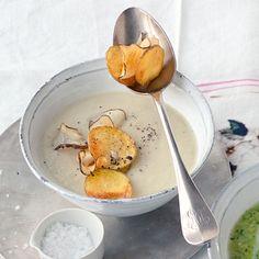 Topinambur Creme Suppe