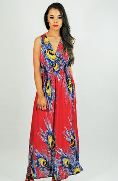 Dress Red, Printed, Clothing, Fashion, Red Gown Dress, Outfits, Moda, Fashion Styles, Prints