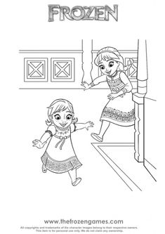25 Best anna frozen coloring pages images in 2019