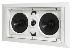 SpeakerCraft AIM LCR 1 In-Wall Speaker - Each (White) at World Wide Stereo