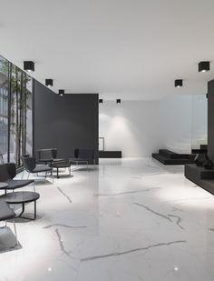 31 Chic Living Room Design Ideas With Floor Granite Tile To Have Granite Flooring, Granite Tile, Marble Interior, Home Interior Design, Floor Design, Tile Design, Deco Design, Chic Living Room, Living Room Flooring