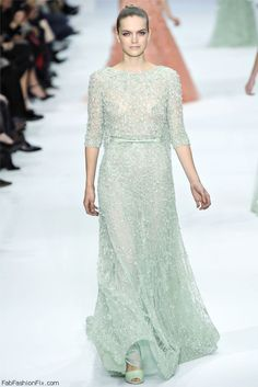 Elie Saab Haute Couture spring/summer 2012 collection. #eliesaab